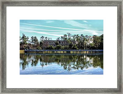 Reflections At The Lake Framed Print