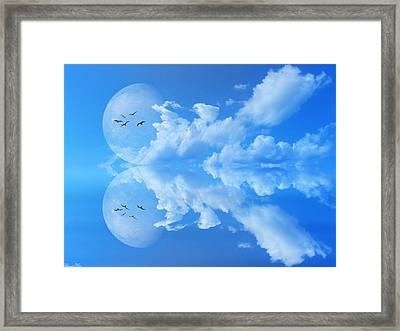 Framed Print featuring the photograph Reflections by Bernd Hau