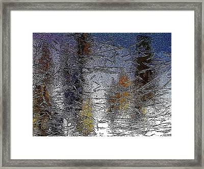 Reflections Framed Print by Betty Pehme