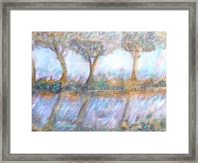 Reflections Framed Print by BJ Abrams