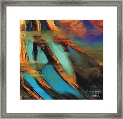 Reflections Framed Print by Bob Salo