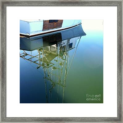Reflections Framed Print by Carol Grimes