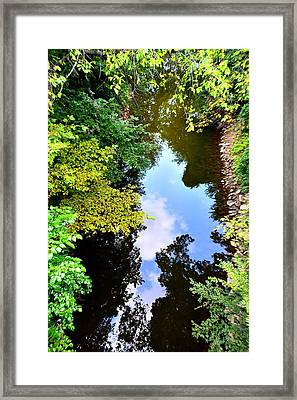Paradigm Shift Framed Print