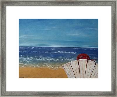 Framed Print featuring the painting Reflections by Diane Daigle