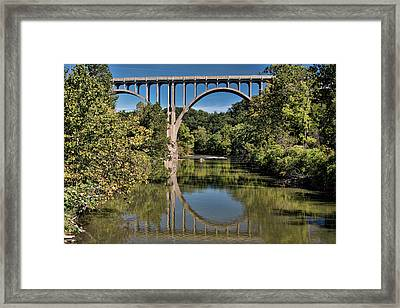 Reflections Framed Print by Donna M Bungo
