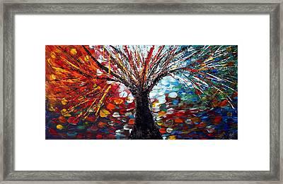 Reflections From Tomorrow  Framed Print by Luiza Vizoli