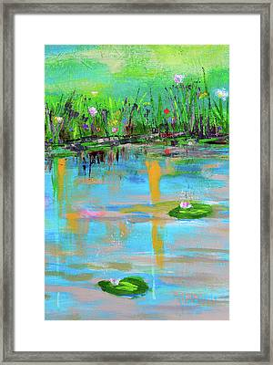 Reflections In Spring Framed Print