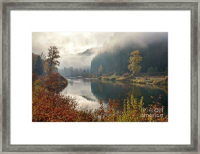 Reflections In The Joe Framed Print