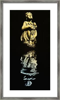 Reflections In The Moonlight Framed Print by Bill Cannon