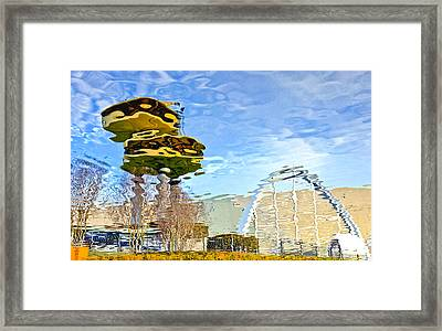 Reflections Framed Print by James Steele