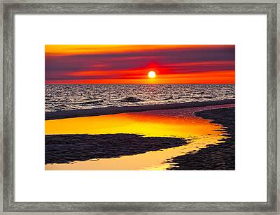 Reflections Framed Print by Janet Fikar