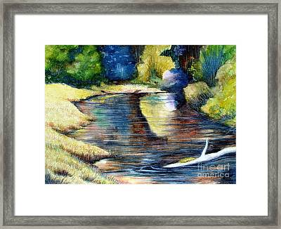 Reflections Framed Print by Joey Nash