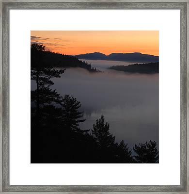 Reflections Framed Print by Jon Butler
