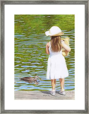 Reflections Framed Print by Karen Hull