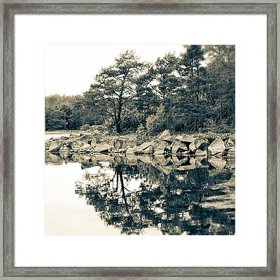 Framed Print featuring the photograph Reflections by Karen Stahlros