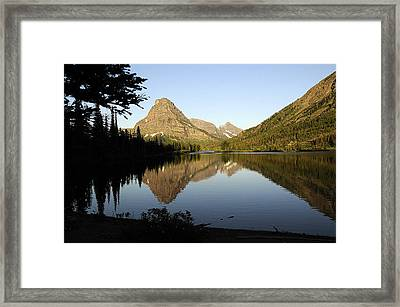 Reflections Framed Print by Keith Lovejoy