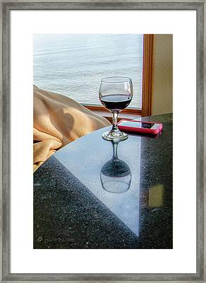 Reflections Lake Superior.... Framed Print