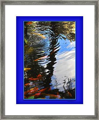Framed Print featuring the photograph Reflections by Linda Olsen
