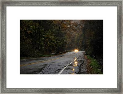 Reflections Framed Print by Mandy Wiltse