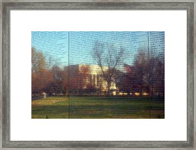 Reflections Framed Print by Mandy Wiltzius