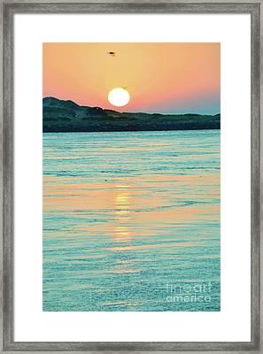 Reflections Meditation Art II Framed Print by Robyn King