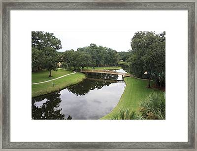 Framed Print featuring the photograph Reflections by Michael Albright