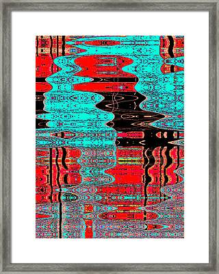 Reflections Number 1 Framed Print by Teodoro De La Santa