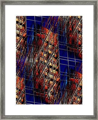 Reflections Of A City 3 Framed Print