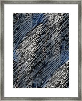 Reflections Of A City 4 Framed Print