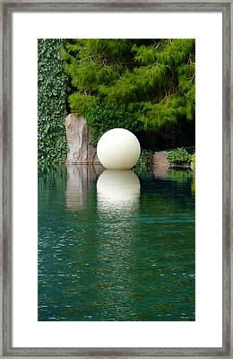 Reflections Of An Orb Framed Print