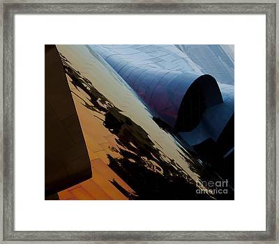Reflections Of Another World Framed Print by Mike Dawson