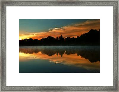 Reflections Of Beauty Framed Print