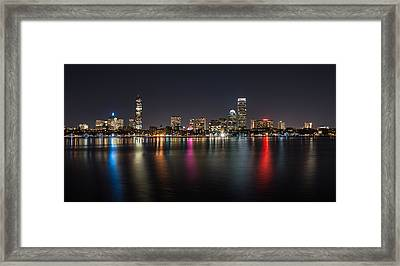 Reflections Of Boston Framed Print