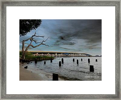 Reflections Of Change Framed Print