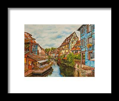 Colmar Framed Prints