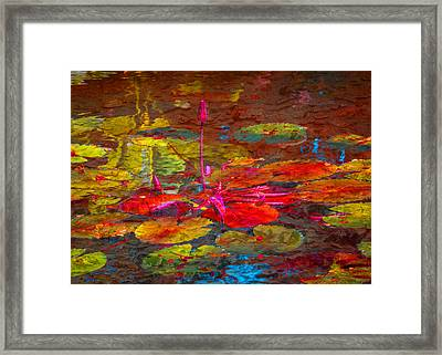 Reflections Of Framed Print by Eric Ewing