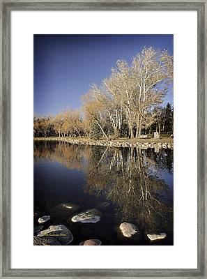 Reflections Of Henderson Framed Print