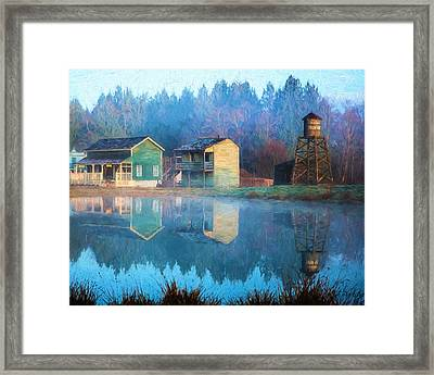 Reflections Of Hope - Hope Valley Art Framed Print