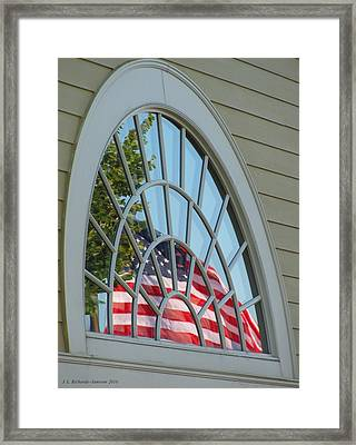 Reflections Of Independence Framed Print