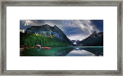 Reflections Of Framed Print