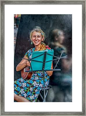 Reflections Of Music Framed Print