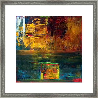 Reflections Of New York Framed Print