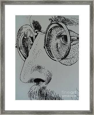 Reflections Of Peace John Lennon Framed Print by Carla Carson