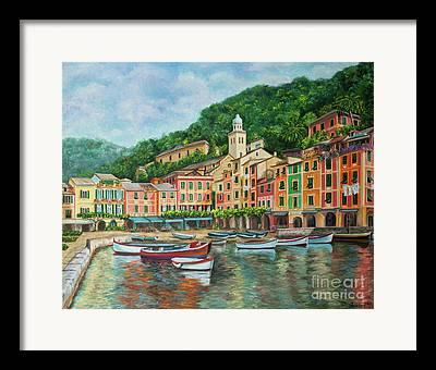 Portofino Italy Art Framed Prints