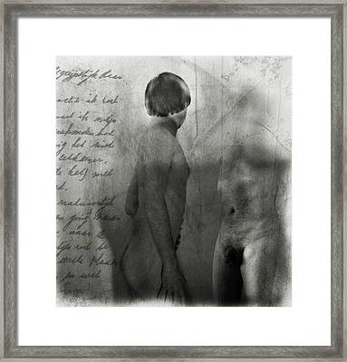 Reflections Of Framed Print by Ready Mades