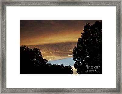 Reflections Of Sunlight  Framed Print