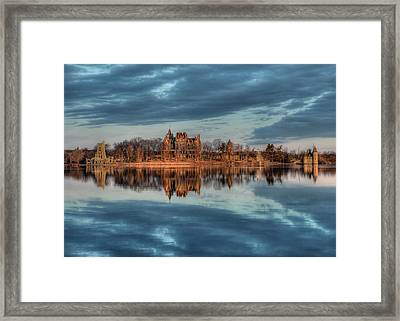 Reflections Of The Heart Framed Print