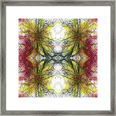 Reflections Of The Inner Light #1513 Framed Print by Rainbow Artist Orlando L aka Kevin Orlando Lau