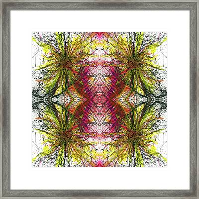 Reflections Of The Inner Light #1515 Framed Print by Rainbow Artist Orlando L aka Kevin Orlando Lau