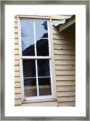 Framed Print featuring the photograph Reflections Of The Past by Debbie Karnes